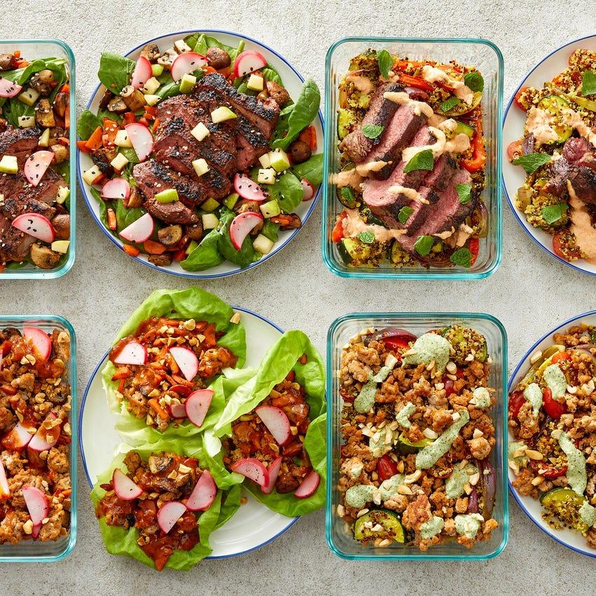 Steaks & Ground Turkey Meal Prep Bundle