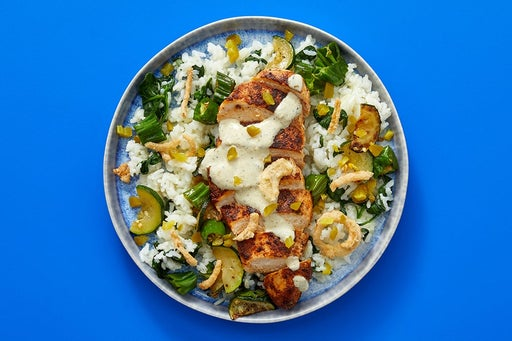 Finish & Serve the Mexican-Spiced Chicken & Rice