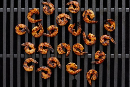 Grill the shrimp