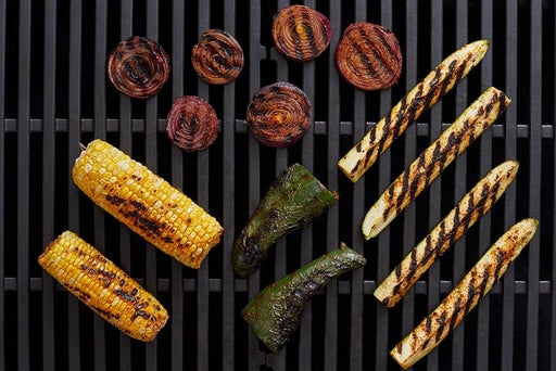 Grill & chop the vegetables