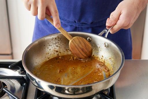 Make the vinaigrette: