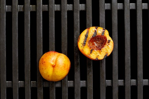 Grill the nectarine
