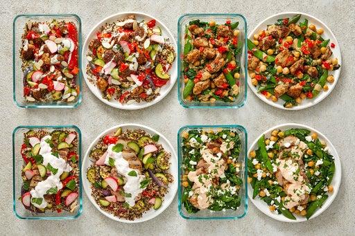 Chicken & Pork Chops Meal Prep Bundle
