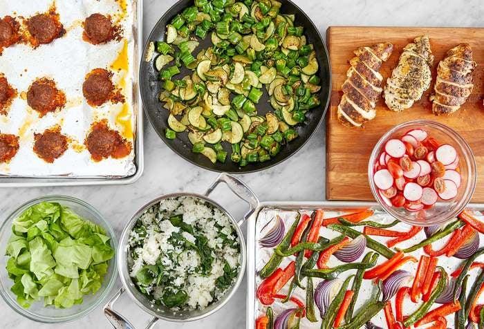 Pork Chorizo Meatballs & Chicken Meal Prep Bundle