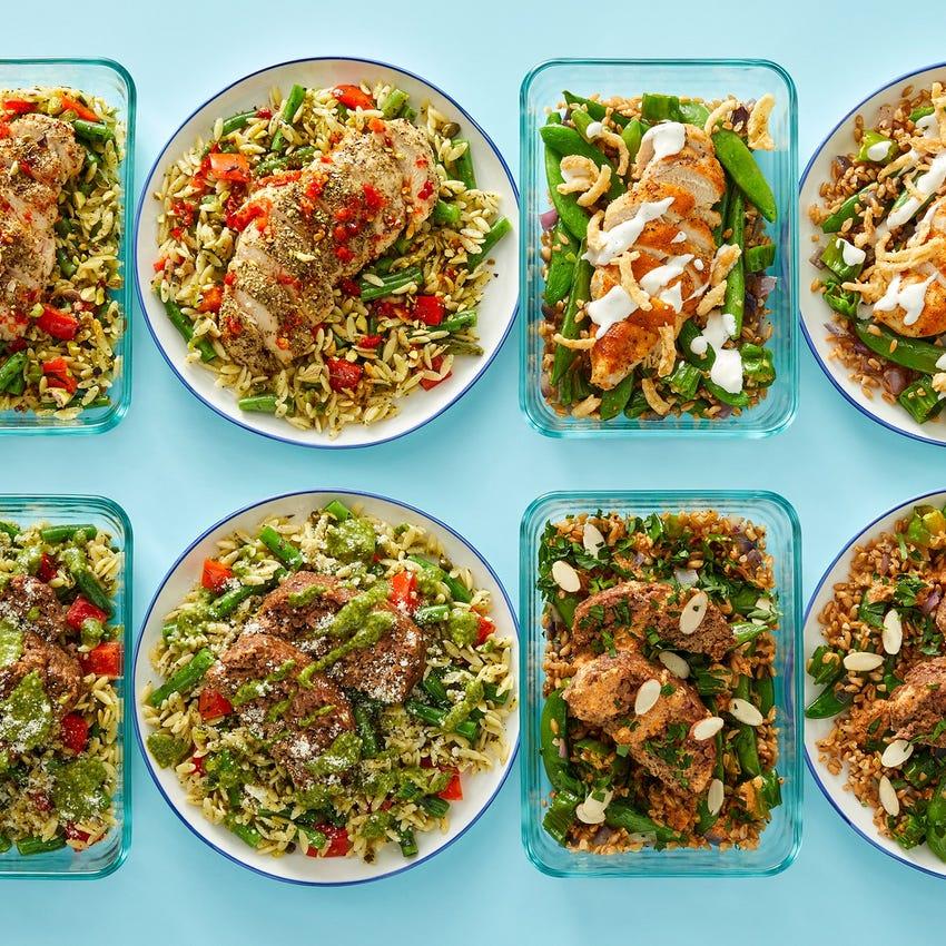 Chicken & Meatloaf Meal Prep Bundle