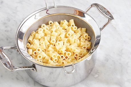 Cook the pasta