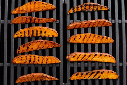 Grill the sweet potatoes