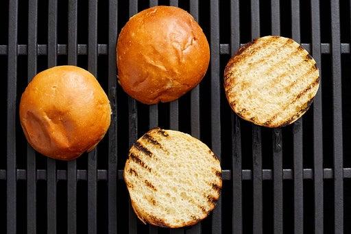 Toast the buns