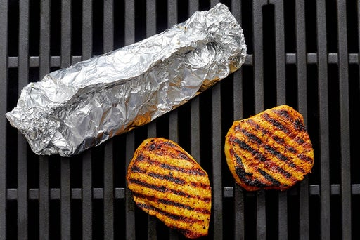 Grill the pork