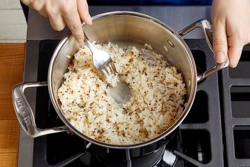 Make the mustard seed rice