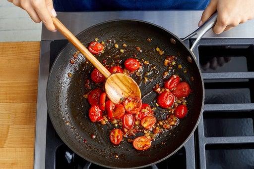 Make the tomato jam
