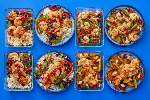 Shrimp & Chicken Meal Prep Bundle