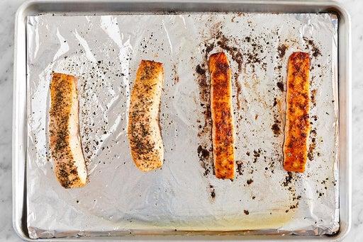 Prepare & bake the fish