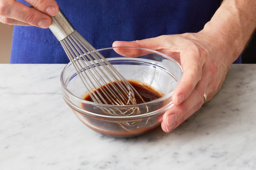 Make the glaze:
