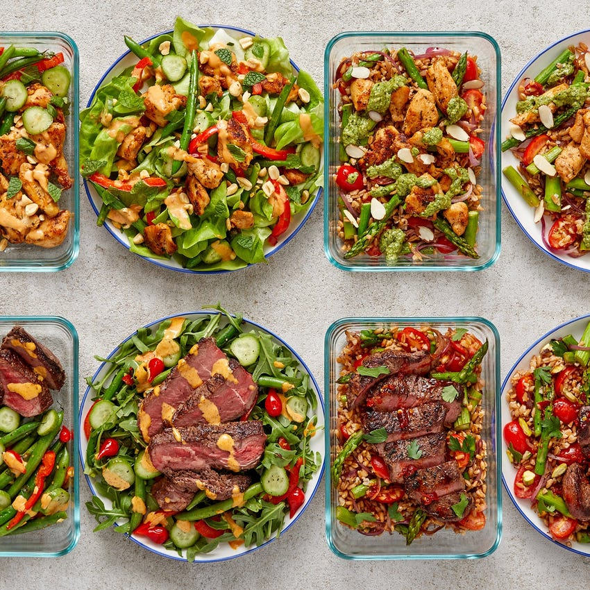 Chicken & Steak Meal Prep Bundle