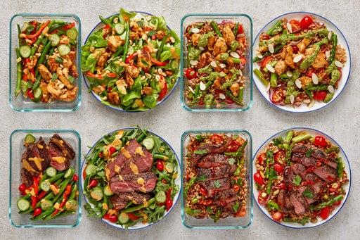 Chicken & Steak Meal Prep Bundle