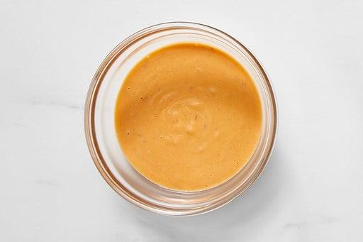 Make the Spicy Peanut Sauce