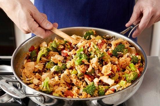 Assemble & bake the casserole: