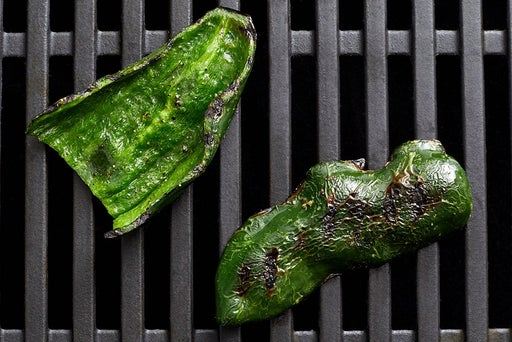 Grill the pepper