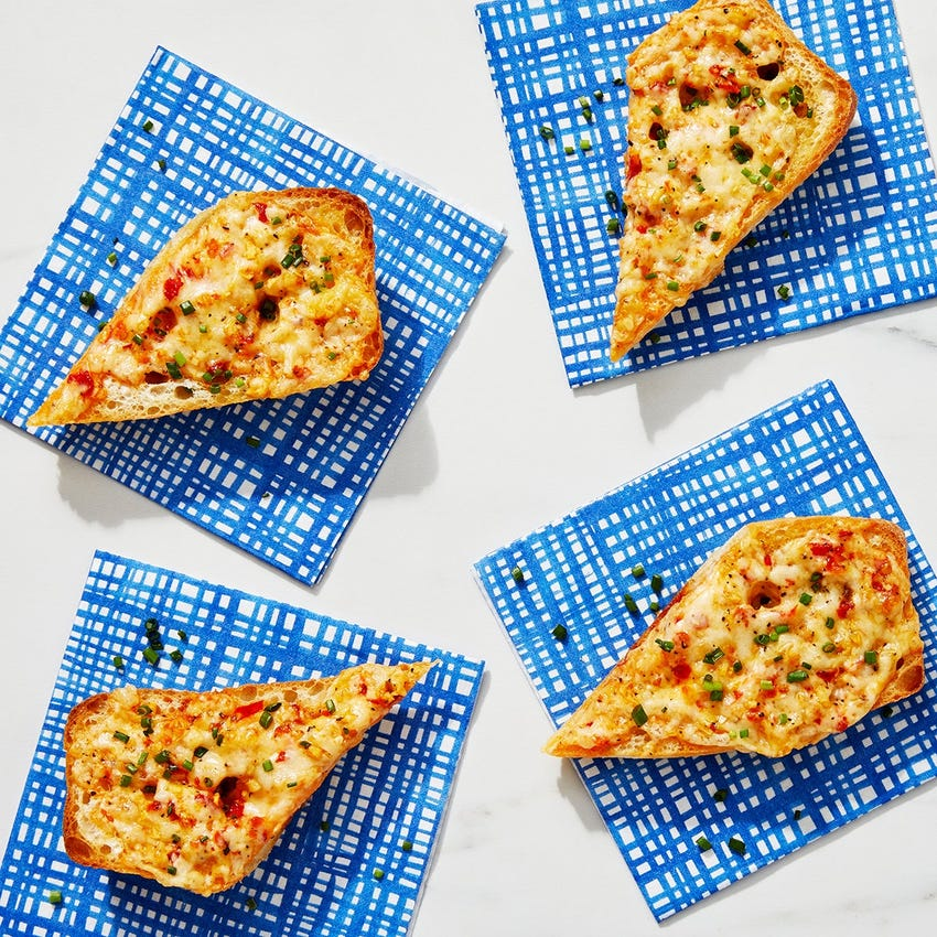 Cheesy Garlic Bread with Calabrian Chile & Chives