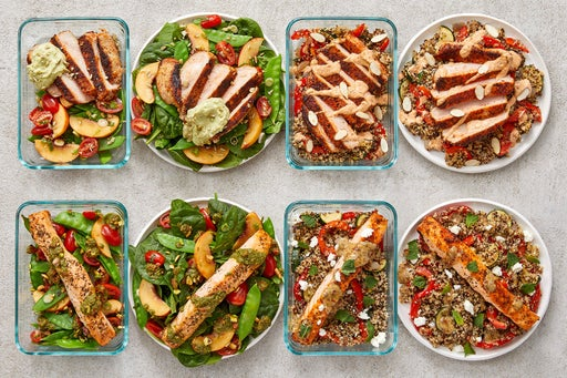 Pork Chops & Salmon Meal Prep Bundle