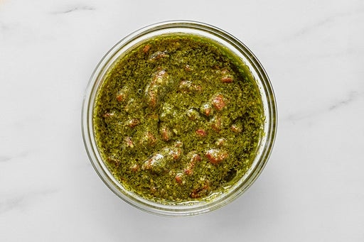 Make the Roasted Pepper Pesto