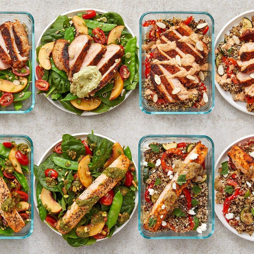 Pork Chops & Salmon Meal Prep Bundle