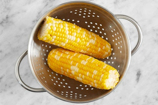 Cook the corn