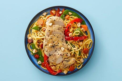 Finish & Serve the Chicken & Veggie Lo Mein