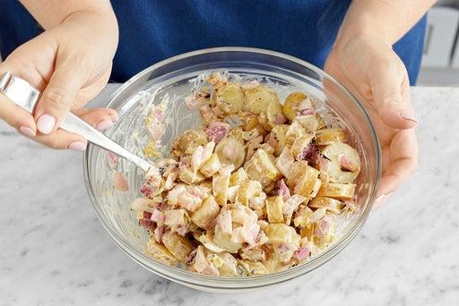 Make the potato salad