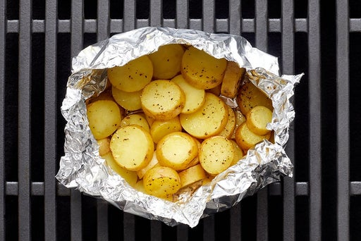 Assemble & grill the foil packet