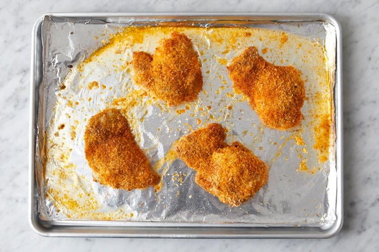 Bake the chicken: