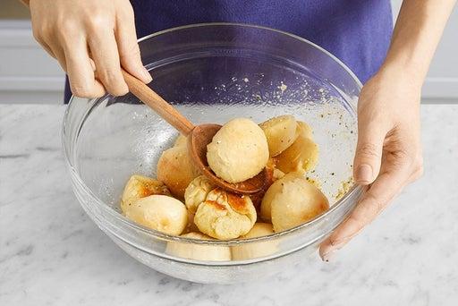 Finish the rolls & serve your dish