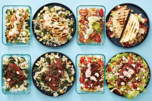 Grilled Chicken & Steak Meal Prep Bundle