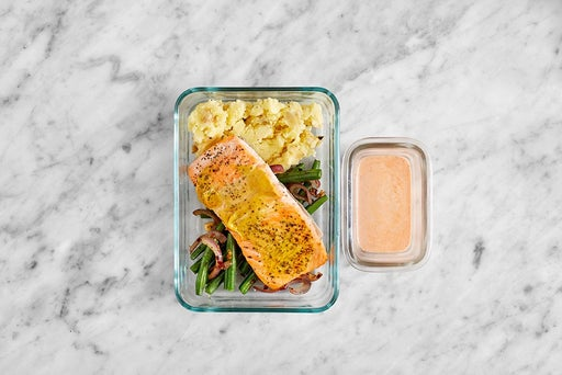 Assemble & Store the Steelhead Trout & Spicy Ranch