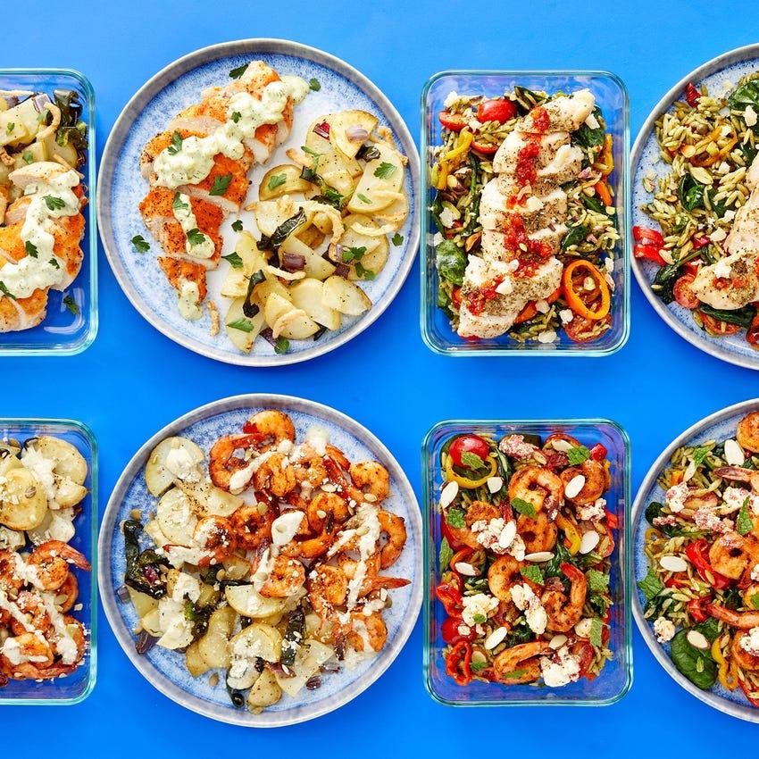Chicken & Shrimp Meal Prep Bundle
