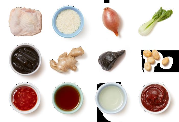Soy-Glazed Chicken with Bok Choy & Sesame Rice