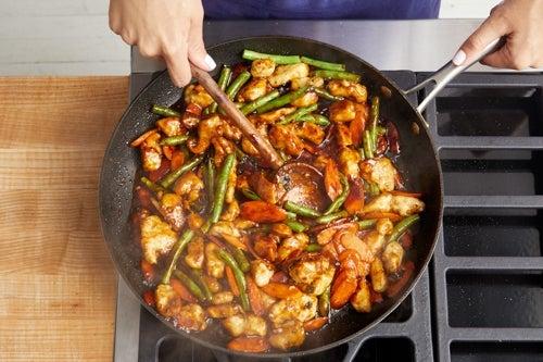 Finish & serve your dish
