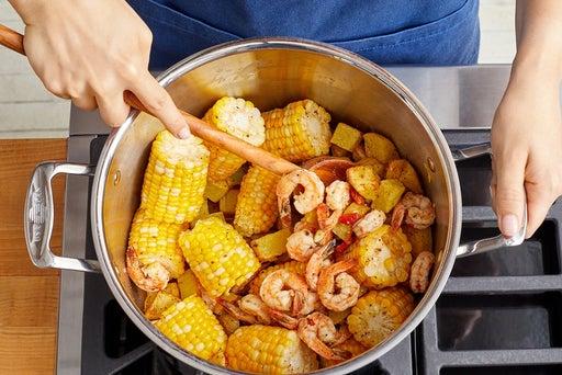 Finish the boil & serve your dish