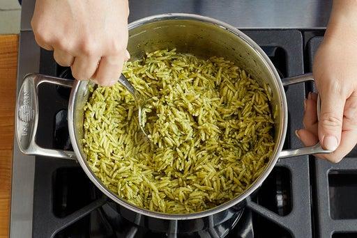 Cook & dress the pasta