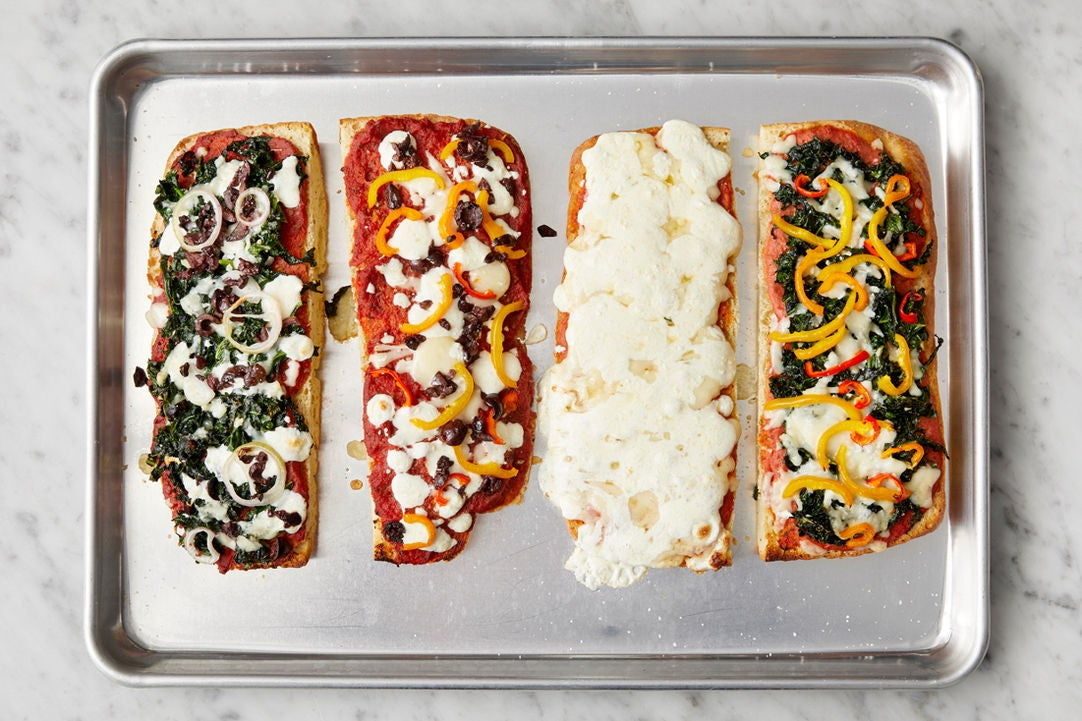 Bake the pizzas & serve your dish: