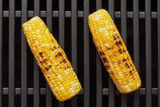 Grill the corn