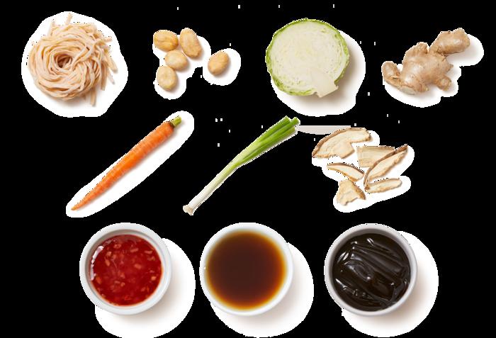 Sweet Chili Stir-Fry with Carrots & Shiitake Mushrooms
