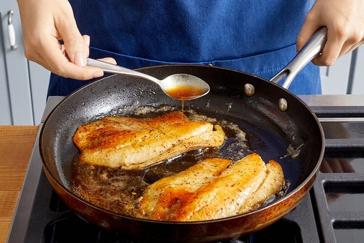Cook the tilapia & serve your dish