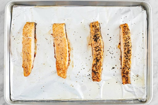 Prepare & roast the fish