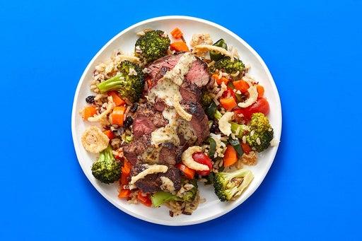 Finish & Serve the Southern-Spiced Steak