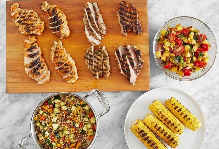 Grilled Chicken & Pork Meal Prep Bundle