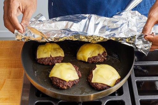 Form & cook the patties