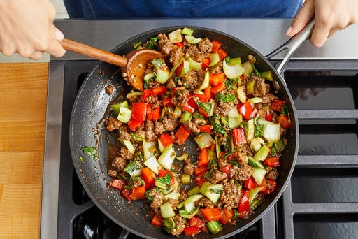 Cook the beef & serve your dish