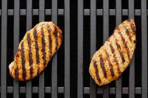 Grill the chicken